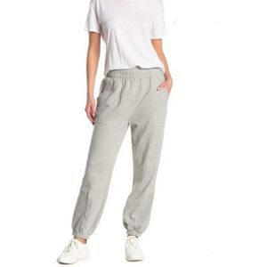 New Free People Slouch It Jogger Heather Gray